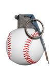 Baseball grenade Stock Photography