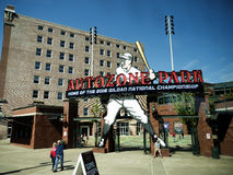 Baseball Ground in Memphis Tennessee USA Royalty Free Stock Photos