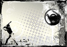 Baseball grunge background Stock Image