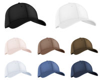 Baseball hats Royalty Free Stock Images