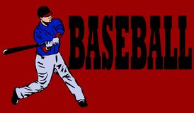 Baseball header Royalty Free Stock Photo