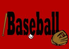 Baseball header Stock Photo
