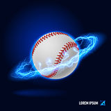 Baseball high voltage Royalty Free Stock Images