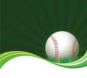 Baseball-Hintergrund Lizenzfreie Stockfotografie