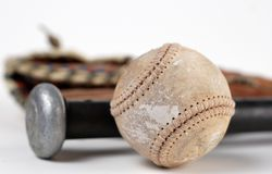 Baseball History Royalty Free Stock Photos