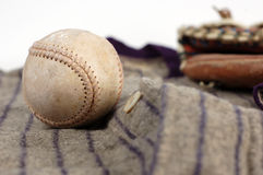 Baseball History Royalty Free Stock Photos