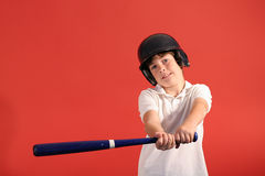 Baseball hit Stock Images