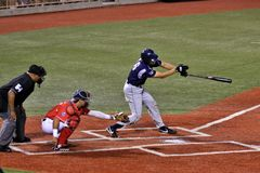 Baseball hitter Royalty Free Stock Photos