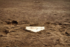 Baseball Home Plate Background Royalty Free Stock Image