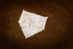 Baseball Home Plate Base Ball Homeplate American Sports Competition royalty free stock photos