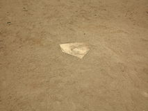 Baseball - Home Plate Royalty Free Stock Image