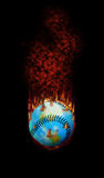 Baseball - A Hot topic for the World Royalty Free Stock Photo
