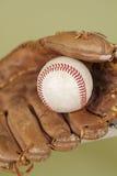 Baseball i rękawiczka obraz stock