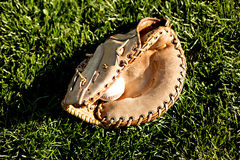 Baseball 2 i rękawiczka Fotografia Royalty Free