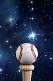 Baseball i wszechświat Obraz Royalty Free