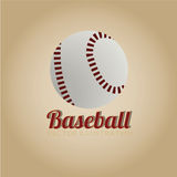 Baseball icon Royalty Free Stock Photo
