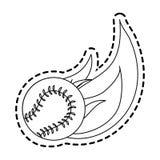 Baseball icon image Stock Photos