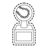Baseball icon image Royalty Free Stock Photography