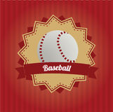 Baseball icon Stock Photography