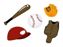 Baseball Icons Stock Photo