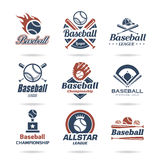 Baseball ikona ustawiająca - 2 royalty ilustracja