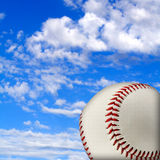 Baseball illustration with sky Stock Photos