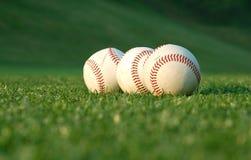 Baseball im Park Stockfoto