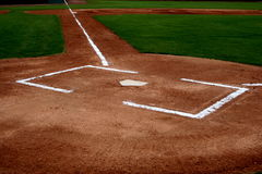 Baseball Infield Royalty Free Stock Photography