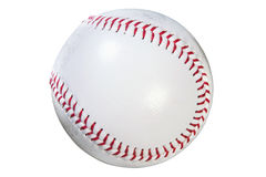Baseball isolated clipping path Royalty Free Stock Photography