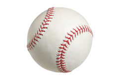 Baseball isolated on white with clipping path. Official Major League baseball isolated on a white background stock photo