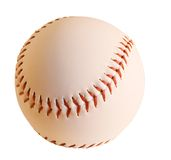 Baseball isolato immagini stock