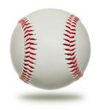 Baseball isolato su priorità bassa bianca Fotografia Stock