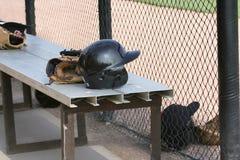 Baseball Items Royalty Free Stock Photography