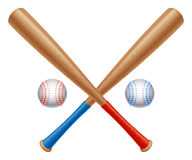Baseball items. Stock Images