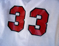 Baseball Jersey Stock Photography