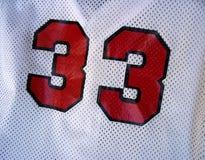 Baseball Jersey Stockfotografie