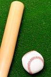 Baseball klumpa ihop sig Royaltyfria Foton
