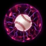 Baseball-Kugel-Rad stock abbildung