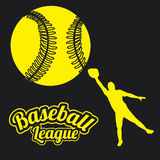 Baseball league Royalty Free Stock Image