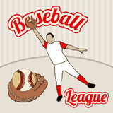 Baseball league Royalty Free Stock Photo