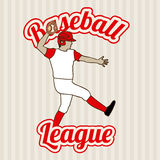 Baseball league Royalty Free Stock Images