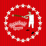 Baseball league Royalty Free Stock Photos