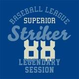 Baseball league superior Royalty Free Stock Photography