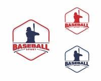 Baseball logo vector design concept, Sport logo design illustration royalty free illustration