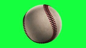BaseBall. Loop seamless, isolated on green screen vector illustration