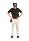 Baseball: Major League Umpire Stock Image