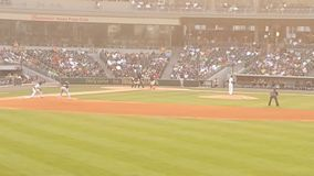 Baseball stadium ground royalty free stock image
