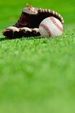Baseball mill and ball Royalty Free Stock Photo