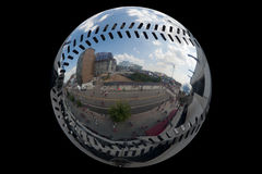 Baseball Mirror Royalty Free Stock Photo