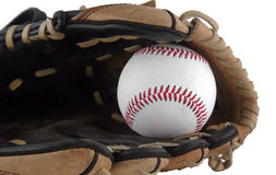 Baseball mitt Stock Image